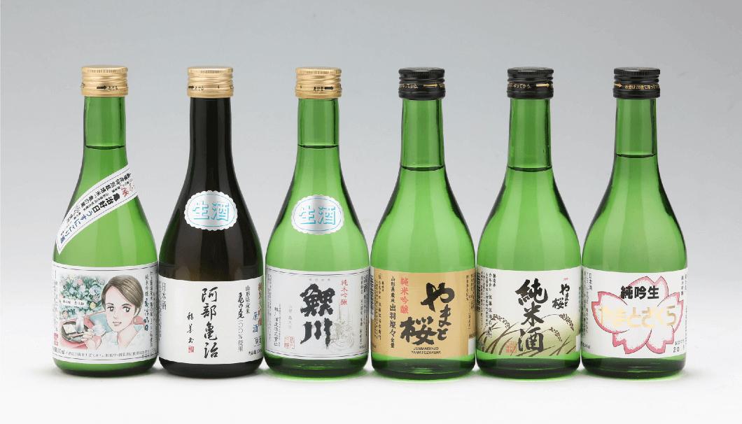 庄内町の酒蔵の日本酒、おうちで楽しめるオリジナルセット