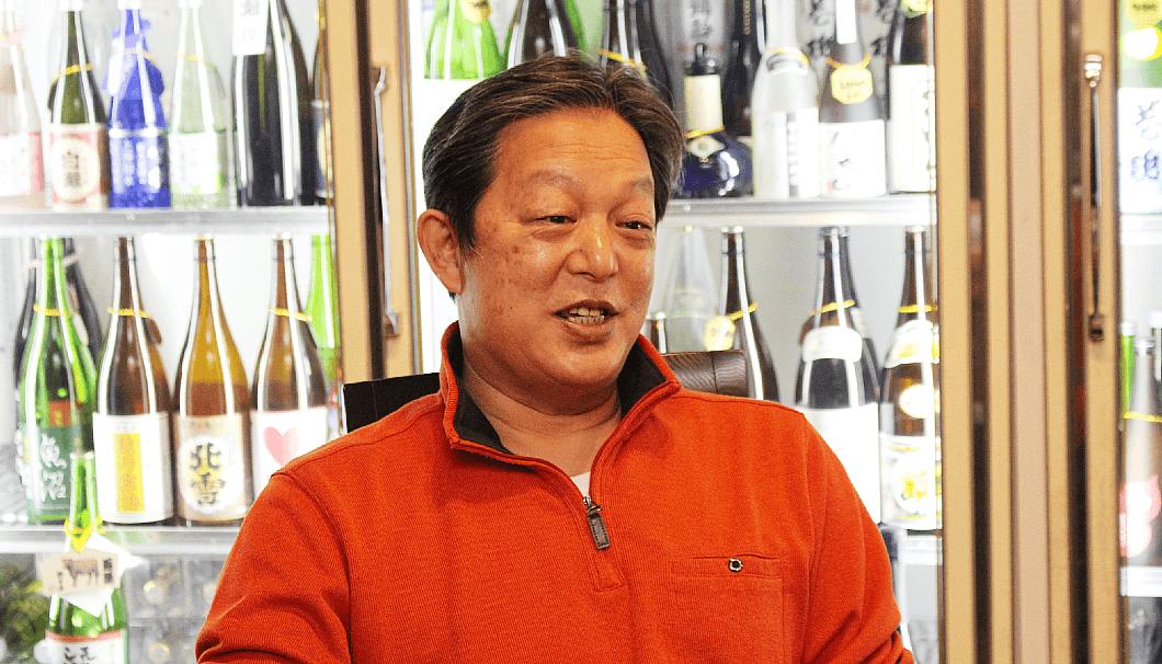 山新商店/地酒Bar山新の三代目店主・高橋綾夫さん