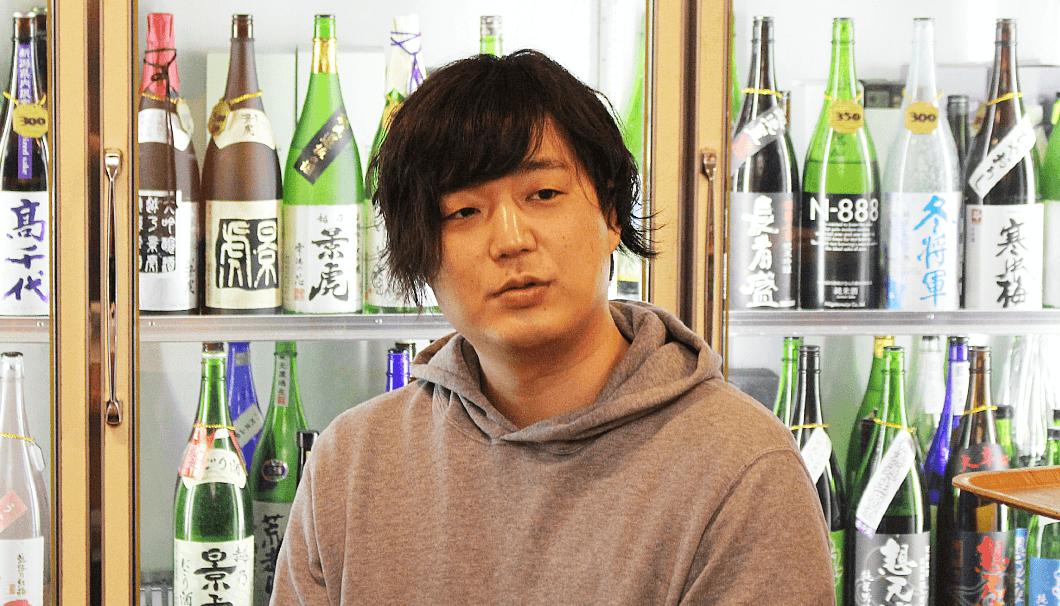 山新商店/地酒Bar山新の高橋善徳さん