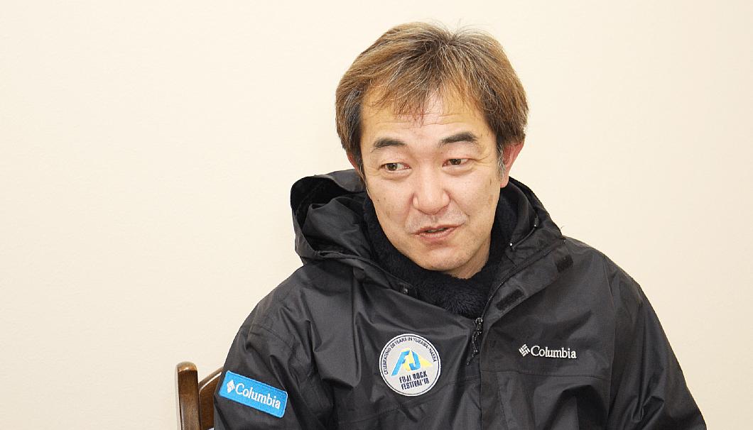 タカハシヤ3代目店主の高橋昭博さん