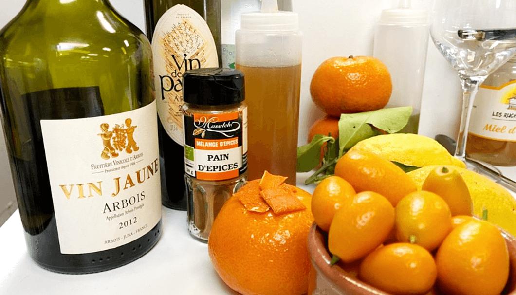 日本酒カクテルに使う材料