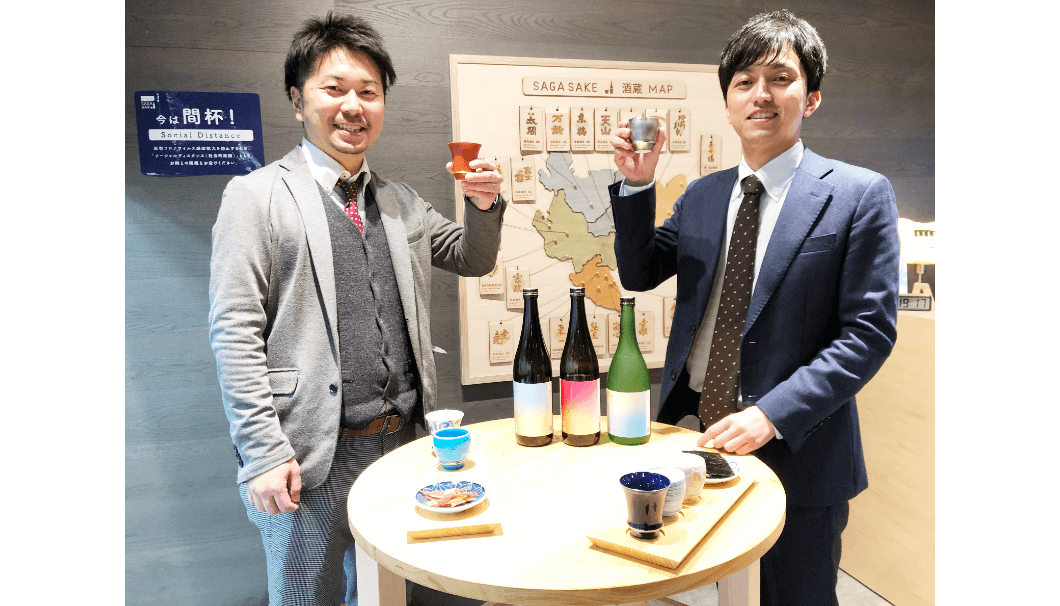 左から御厨直樹さんと池田康平さん