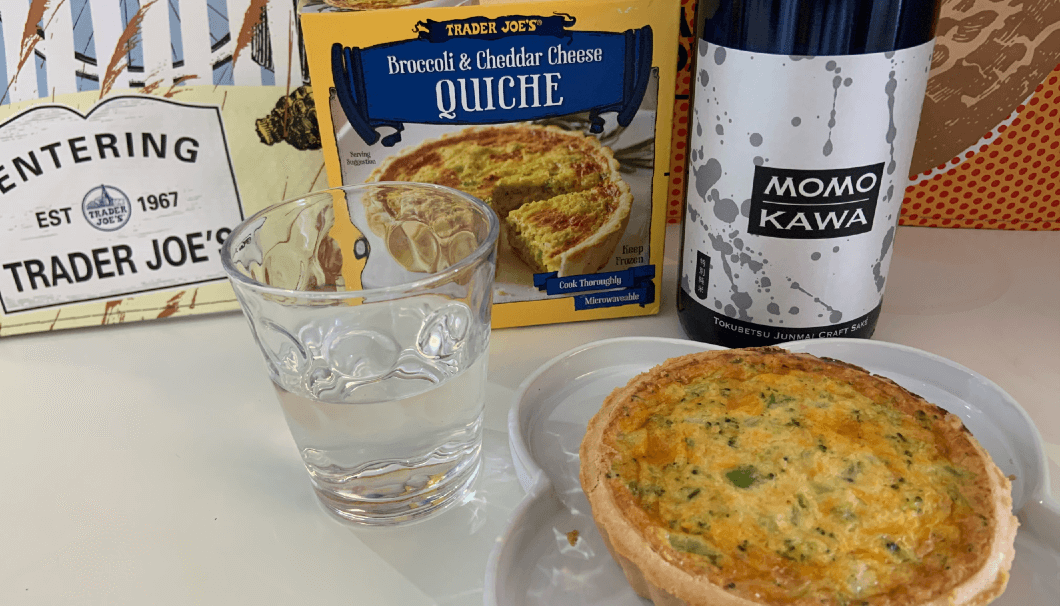 Broccoli & Cheddar Cheese Quiche