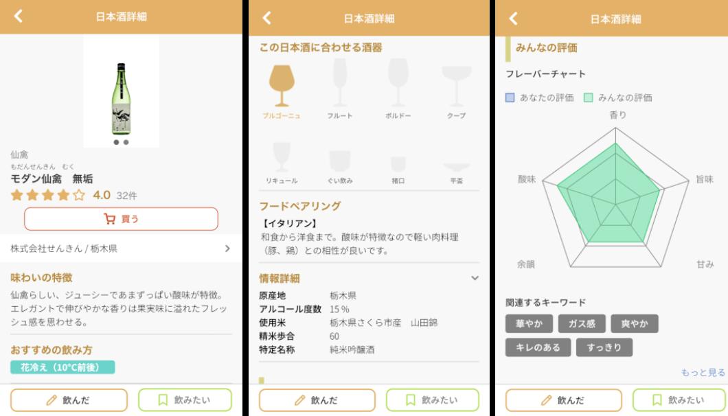 Sakenomy 日本酒情報