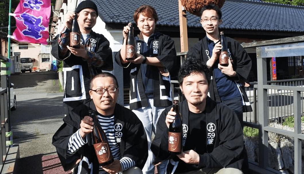 長野県の酒蔵後継者たちが結成したユニット「59醸(ごくじょう)」