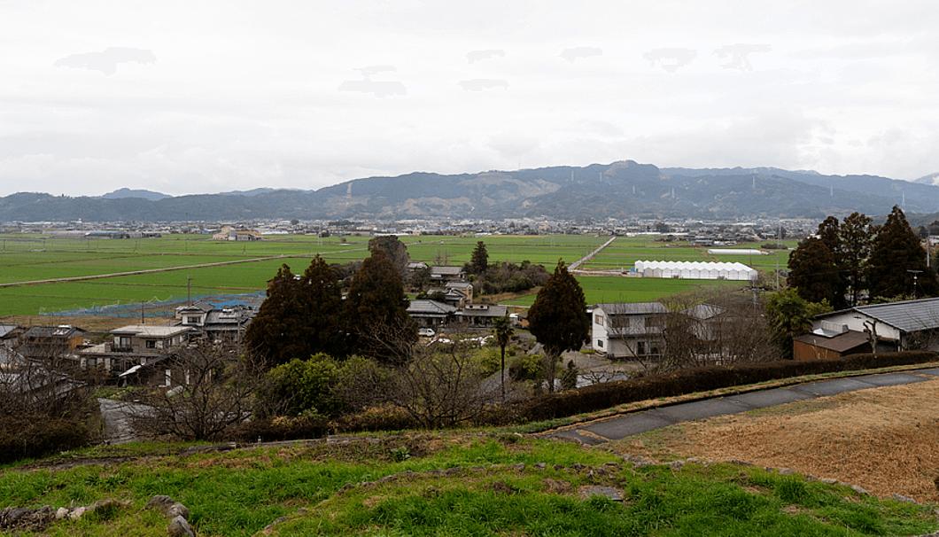 福岡県うきは市の街並み