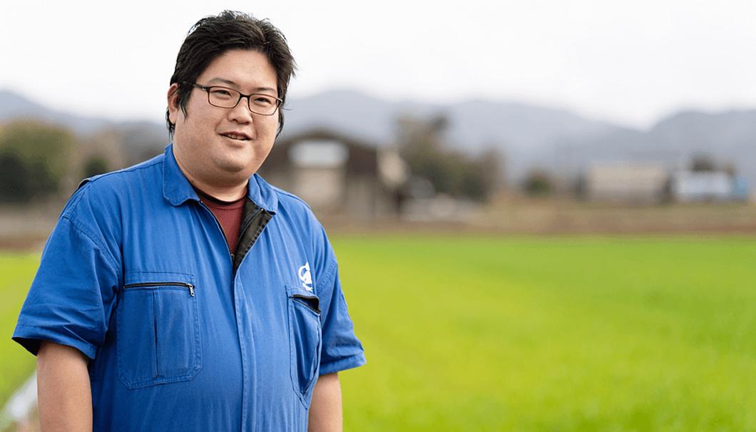 福岡県糸島の米農家・濱地一好さん