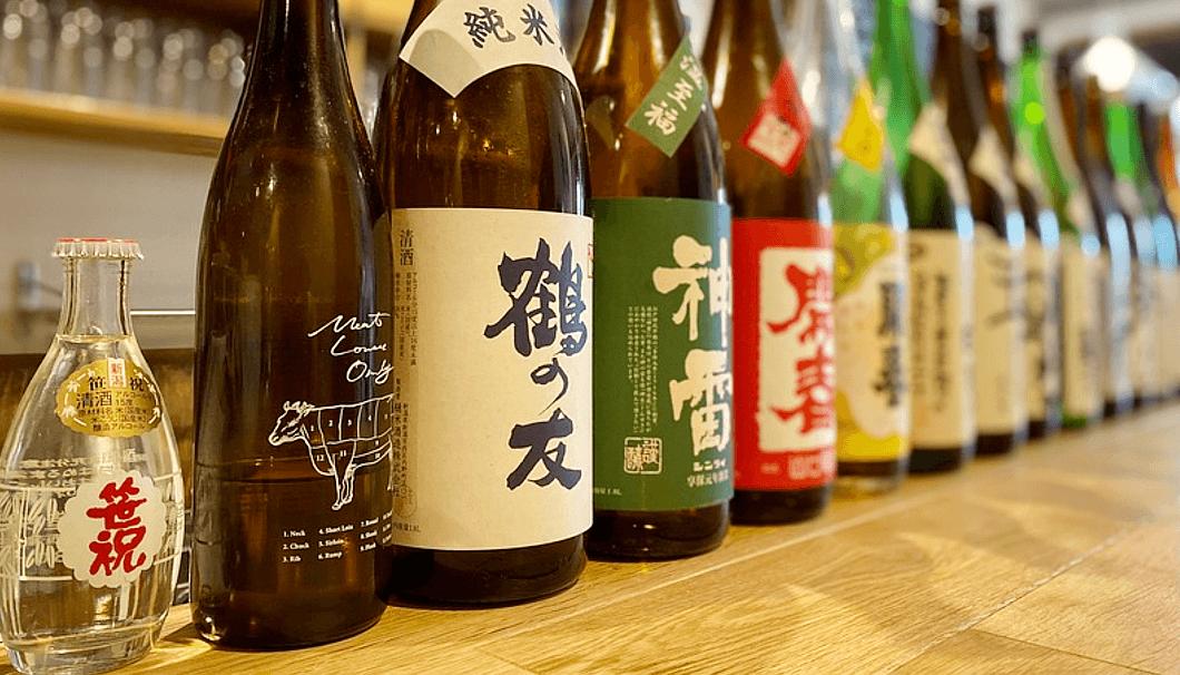 「旬菜バル kansichi」の日本酒