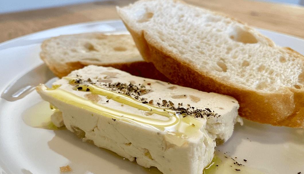 「いぶりがっことクリームチーズ」