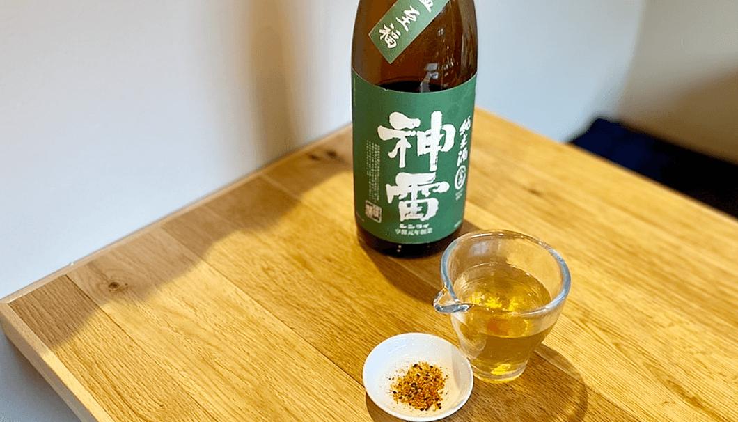 日本酒の出汁割メニュー