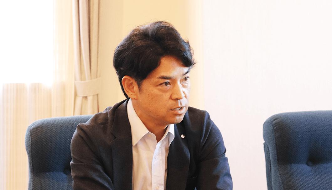 白鶴酒造 代表取締役社長の嘉納健二さん