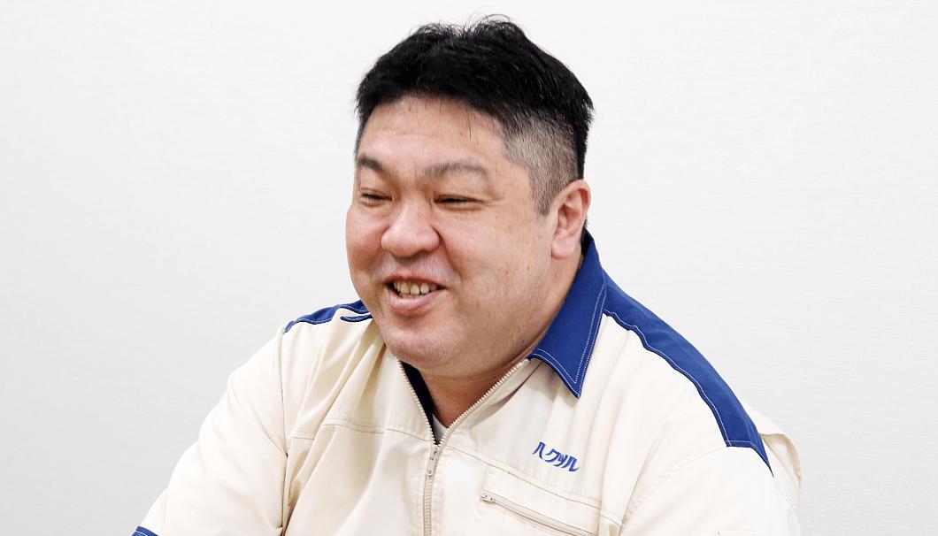 白鶴酒造 生産本部 水谷仁さん