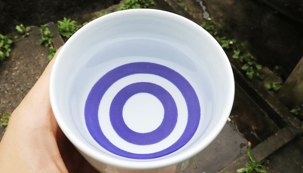 岩瀬酒造の井戸水