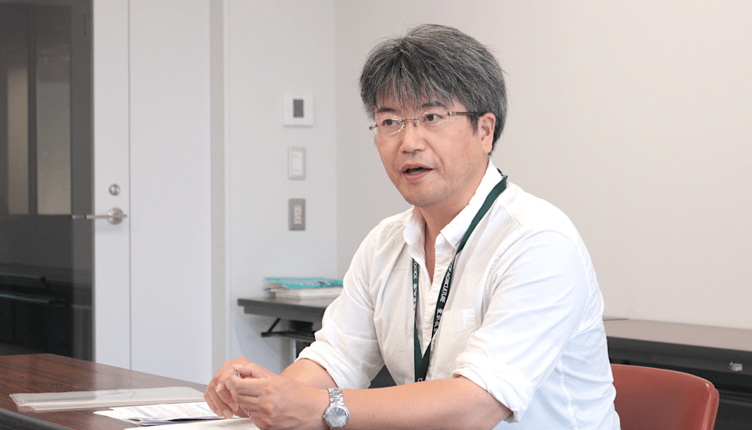 東京農業大学 醸造科学科・數岡孝幸 准教授