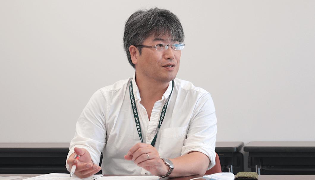 東京農業大学 醸造科学科 准教授・數岡孝幸先生