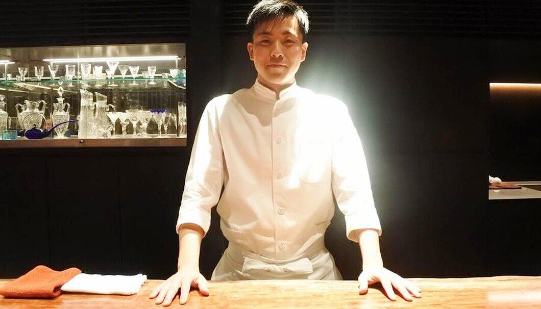 「草庵 鍋島」料理長・西村卓馬さん