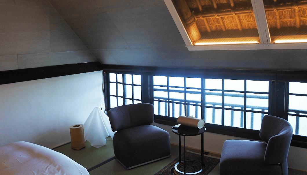 「御宿 富久千代」の寝室