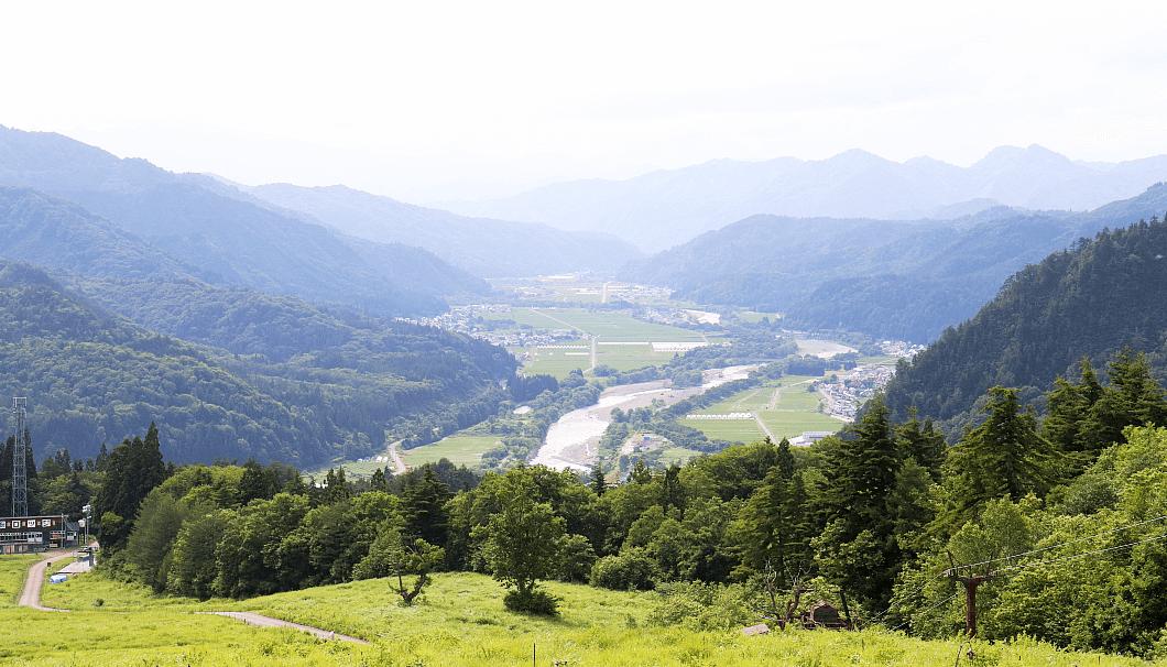 福島県只見町の風景