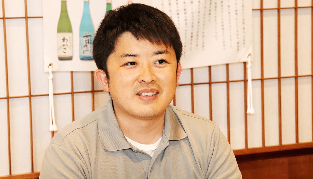 小浜酒造 蔵人の橋本○○さん