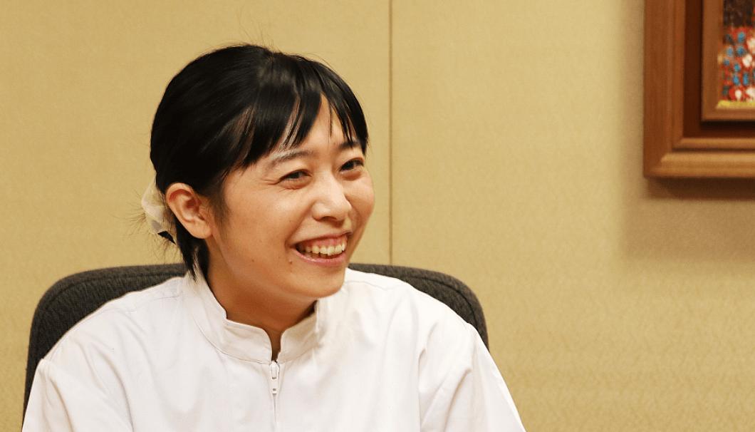 大関 総合研究所 技術開発グループ 原田春佳さん