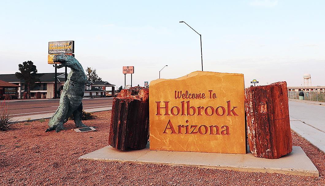 ホルブルックの町の入口