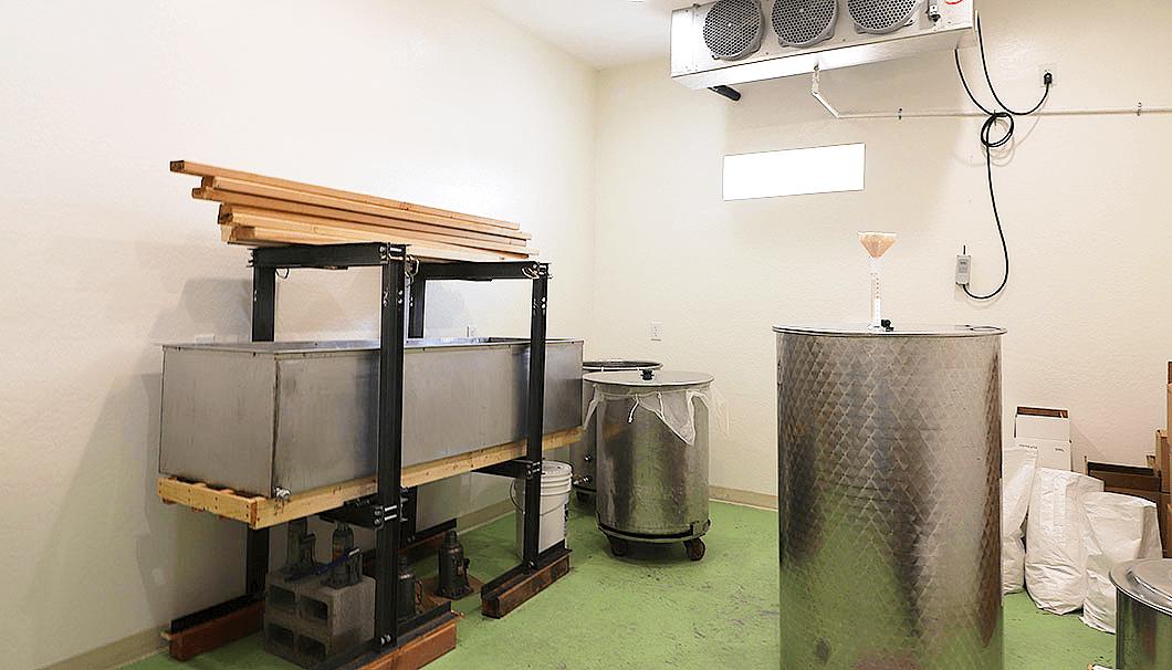 Arizona Sakeの醸造所内部