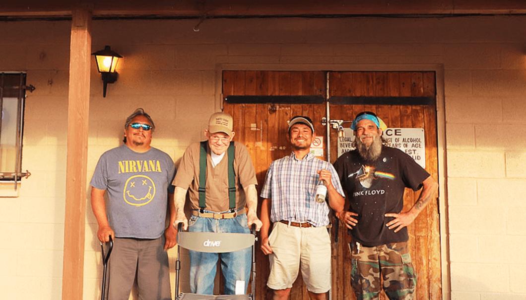 (左から順に)蔵人のヴァルさん、ボブさん、櫻井さん、蔵人のスティーブさん