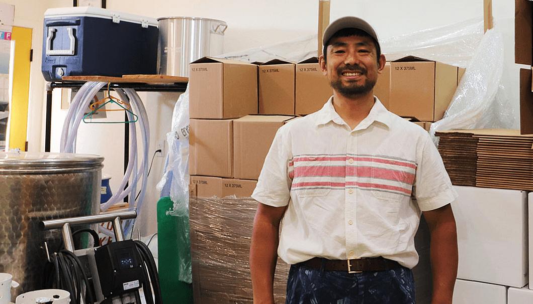 「Arizona Sake」櫻井厚夫さん