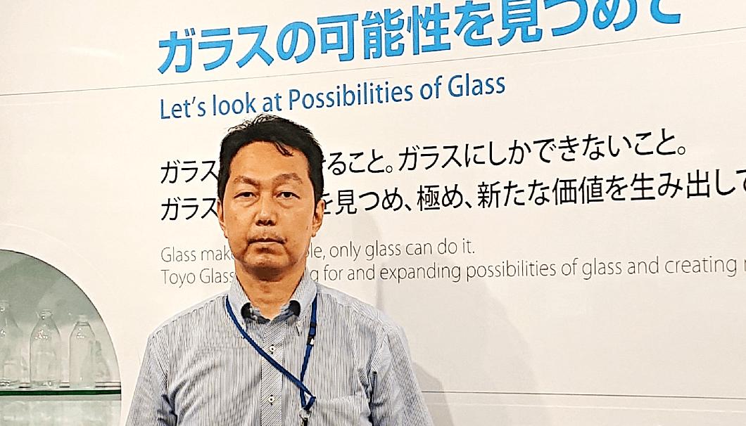 東洋ガラス株式会社 環境・品質保証部 大越壯一郎さん