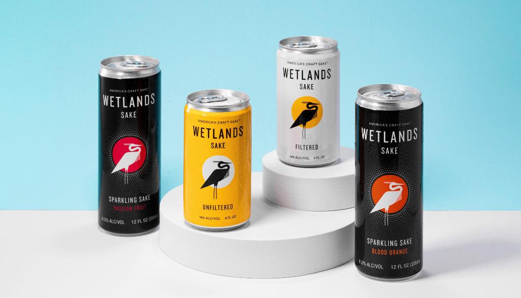 「Wetlands Sake」の商品ラインナップ